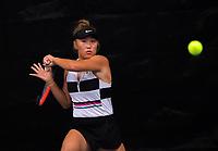 Women's Singles final - Paige Hourigan v Vivian Zixuan Yang (pictured). 2020 New Zealand Championships Wellington Tennis Open finals at Renouf Centre in Wellington, New Zealand on Sunday, 20 December 2020. Photo: Dave Lintott / lintottphoto.co.nz