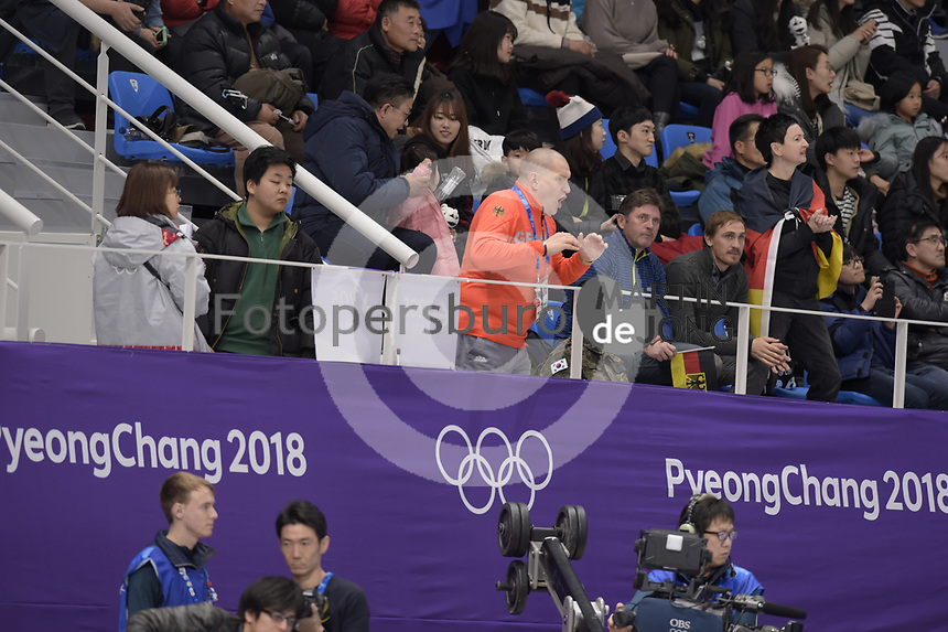 OLYMPIC GAMES: PYEONGCHANG: 16-02-2018, Gangneung Oval, Long Track, 5.000m Ladies, Matthias Grosse, ©photo Martin de Jong