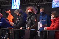 SPEEDSKATING: DORDRECHT: 06-03-2021, ISU World Short Track Speedskating Championships, Wilma Boomstra (coach USA), ©photo Martin de Jong