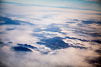 Somewhere above Czech Republic heading to Sarajevo to meet Elvis Causevic. <br /> <br /> In 1992 while volunteering at the Varazdin refugee camp Panos photographer Bjoern Steinz met and became close to Elvis, a Bosnian Muslim refugee, and his family. They shared the hardships of camp life together which Steinz documented. While the prints were archived for many years two of the images always returned to Bjoern's thoughts. 25 years later he set out to try and find out what had happened to Elvis and his family in the intervening years. Modern social media made the task surprisingly easy and they were reunited in Hadzici where Elvis now lives with his family.