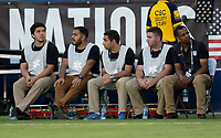 Carson, CA - Thursday August 03, 2017: Medics during a 2017 Tournament of Nations match between the women's national teams of the United States (USA) and Japan (JAP) at StubHub Center.