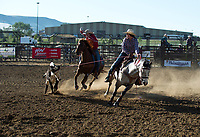 17-J18-WY HS Fnls Team Roping Friday 2nd Go