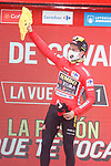 Primoz Roglic (SLO) Jumbo-Visma wins Stage 17 and retakes the race leaders Red Jersey of La Vuelta d'Espana 2021, running 185.8km from Unquera to Lagos de Covadonga, Spain. 1st September 2021.    <br /> Picture: Luis Angel Gomez/Photogomezsport   Cyclefile<br /> <br /> All photos usage must carry mandatory copyright credit (© Cyclefile   Luis Angel Gomez/Photogomezsport)
