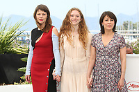 BARBORA BOBULOVA, CHARLOTTE CETAIRE AND MARYLINE CANTO - PHOTOCALL OF THE FILM 'APRES LA GUERRE' AT THE 70TH FESTIVAL OF CANNES 2017