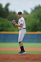 GCL Pirates pitcher Daniel Ross (17) during a Gulf Coast League game against the GCL Rays on August 7, 2019 at Charlotte Sports Park in Port Charlotte, Florida.  GCL Rays defeated the GCL Pirates 5-3 in the second game of a doubleheader.  (Mike Janes/Four Seam Images)
