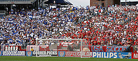 USA fans, World Cup qualifier between USA and El Salvador, 2004.