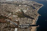aerial photograph Santa Cruz, California