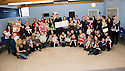 22/12/2010   Copyright  Pic : James Stewart.003_aberlour_langlees  .::  ABERLOUR TRUST  :: ALLY HUNTER, CHAIR OF THE TARTAN ARMY CHILDRENS CHARITY, PRESENTS A CHEQUE FOR THE SUM OF £10,000 TO KIM CAREY, SERVICE MANAGER, ABERLOUR CHILDCARE TRUST LANGLEES FAMILY CENTRE ::