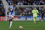 CD Leganes's Youssef En-Nesyri and during La Liga match between CD Leganes and FC Barcelona at Butarque Stadium in Madrid, Spain. September 26, 2018. (ALTERPHOTOS/A. Perez Meca)