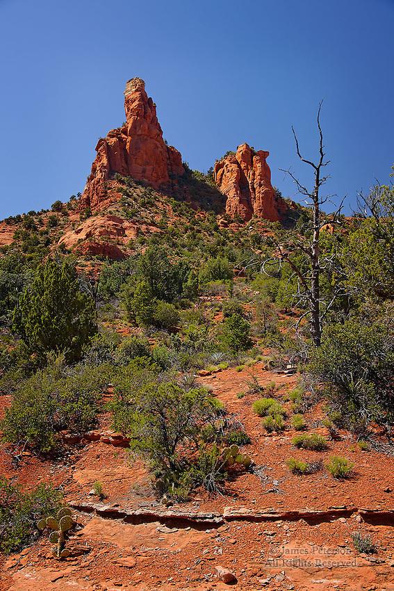 View from Cibola Trail, near Sedona, Arizona