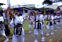 Waipahu cultural garden; recreated plantation village - grand opening. 9-20-92