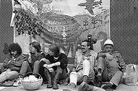 - Germania, Maggio 1987, blocco della base militare USA  di Hasselbach per il dispiegamento degli Euromissili<br /> <br /> - Germany, May 1987, blockade of the US military base in Hasselbach for the deployment of Euromissiles