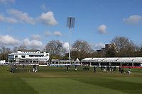 General view of nets practice ahead of Essex CCC vs Worcestershire CCC, LV Insurance County Championship Group 1 Cricket at The Cloudfm County Ground on 11th April 2021