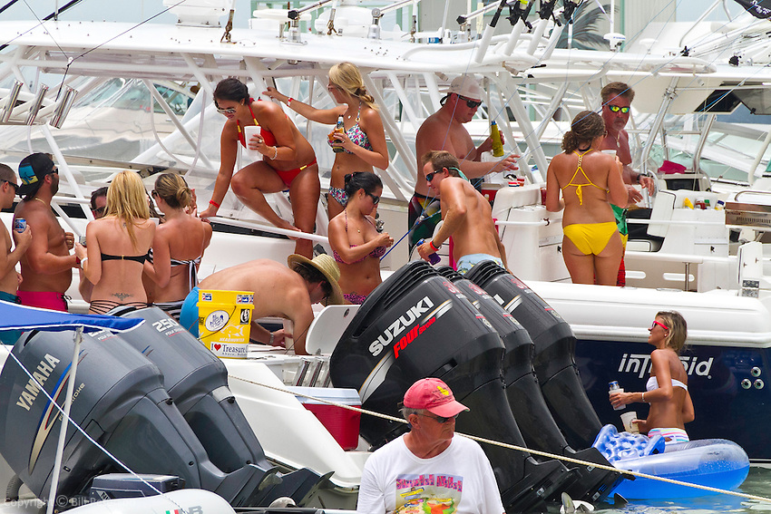 Landing party..Stranded Naked cheesburger party on Fiddle Cay Bahamas