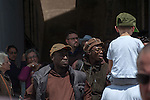 Rome@2013 - Turisti in Piazza San Pietro durante la Santa Messa di Papa Francesco.