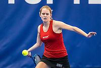 Amstelveen, Netherlands, 14  December, 2020, National Tennis Center, NTC, NK Indoor, National  Indoor Tennis Championships, Qualifying:  Sophie Schouten (NED)	<br /> Photo: Henk Koster/tennisimages.com