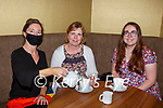 Grainne O'Connor serving Maria Tynan  and Orla Tynan Milltown in the Brown Sugar Café Killarney on Monday