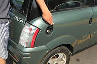 ZENN  electrical car<br /> <br /> <br /> PHOTO :  Agence Quebec presse
