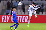 Waleed Mohamed Alhayam of Bahrain (R) in action during the AFC Asian Cup UAE 2019 Group A match between India (IND) and Bahrain (BHR) at Sharjah Stadium on 14 January 2019 in Sharjah, United Arab Emirates. Photo by Marcio Rodrigo Machado / Power Sport Images