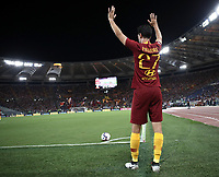 Calcio, Serie A: Roma - Atalanta, Stadio Olimpico, 27 agosto, 2018.<br /> Roma's Javier Pastore in action during the Italian Serie A football match between Roma and Atalanta at Roma's Stadio Olimpico, August 27, 2018.<br /> UPDATE IMAGES PRESS/Isabella Bonotto