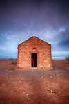 Derelict Building at Sunset, Flinders Ranges National Park, South Australia