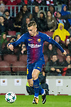 Gerard Deulofeu Lazaro of FC Barcelona in action during the UEFA Champions League 2017-18 match between FC Barcelona and Olympiacos FC at Camp Nou on 18 October 2017 in Barcelona, Spain. Photo by Vicens Gimenez / Power Sport Images
