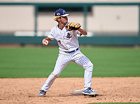 John Carroll Catholic Rams infielder Braden Calise (7) during practice before the 42nd Annual FACA All-Star Baseball Classic on June 5, 2021 at Joker Marchant Stadium in Lakeland, Florida.  (Mike Janes/Four Seam Images)