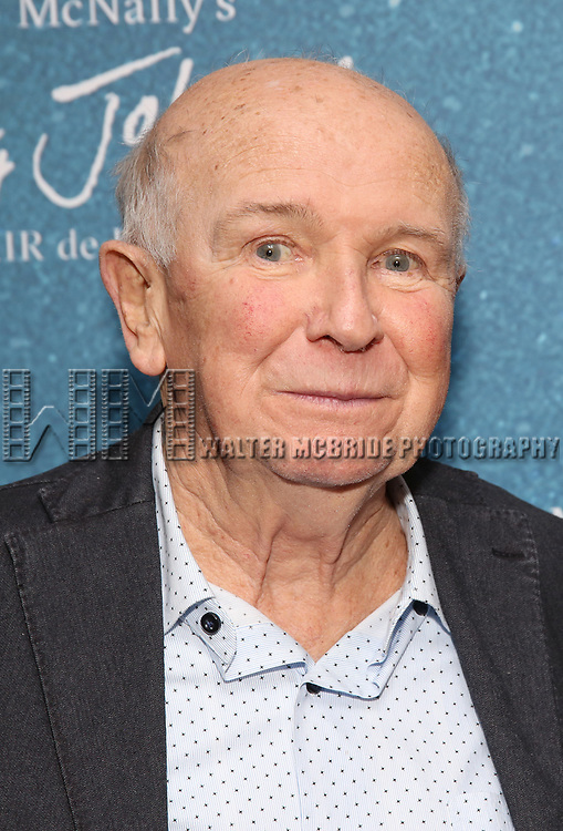 """Terrence McNally during the Opening Night After Party for """"Frankie and Johnny in the Clair de Lune"""" at the Brasserie 8 1/2 on May 29, 2019  in New York City."""