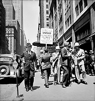 Urban Heartbeat: New York City street scene June 1936.<br /> <br /> Photo by Dorothea Lange