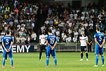 Kitchee SC and Tottenham Hotspur FC during a minute of silence in respect  of victims of Manchester terrorist attack at Hong Kong Stadium on May 26, 2017 in So Kon Po, Hong Kong. Photo by Man yuen Li  / Power Sport Images