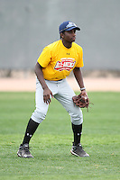 January 17, 2010:  Kevin Barker (San Francisco, CA) of the Baseball Factory California Team during the 2010 Under Armour Pre-Season All-America Tournament at Kino Sports Complex in Tucson, AZ.  Photo By Mike Janes/Four Seam Images