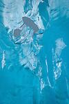 Closeup of upside-down Iceberg, LeConte Glacier, Alaska