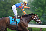 Stay Thirsty (9) Ridden by Javier Castellano Winner of the 142nd Travers Stakes (Grade I)   at  Saratoga Race Course in Saratoga Springs, NY  on 8/27/11. (Ryan Lasek / Eclipse Sportwire)