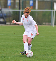 UEFA Women's Under 17 Championship - Second Qualifying round - group 1 : England - Iceland : .Aoife Mannion.foto DAVID CATRY / Vrouwenteam.be