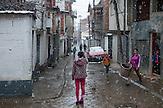 """Roma """"Terzi"""" Mahalla (hood)  in the town of Prizren, Kosovo"""