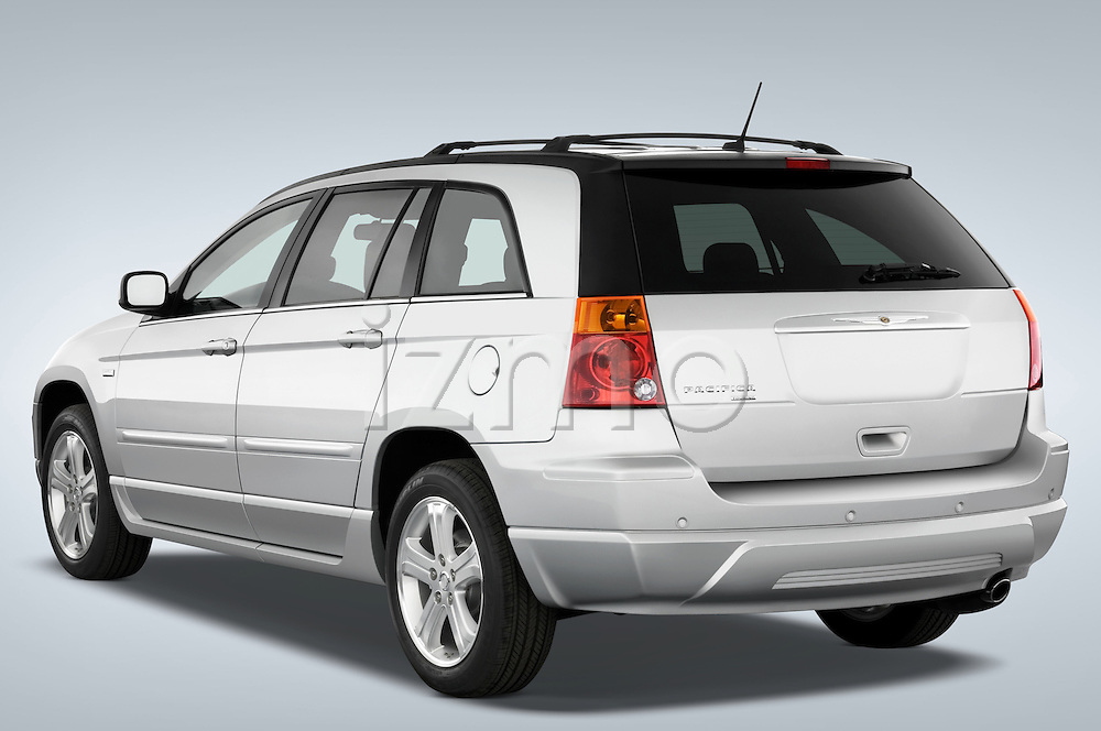 Rear three quarter view of a 2008 Chrysler Pacifica