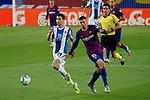 8th July 2020; Camp Nou, Barcelona, Catalonia, Spain; La Liga Football, Barcelona versus Espanyol; Picture show Marc Roca and Lenglet