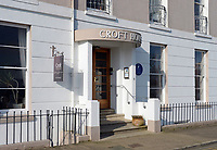 "Pictured: Croft House in Tenby, west Wales.<br /> Re: A holiday home where Beatrix Potter drew parts of The Tale of Peter Rabbit is up for sale.<br /> The renowned author wrote a letter from the seaside home in Tenby, Pembrokeshire, in 1900 telling tales of rabbits living in the cliffs.<br /> She was also inspired by the garden of the Grade II-listed Georgian property and painted a lily pond that was used in the book.<br /> Croft House has been put on the market for £1.8m.<br /> The building was once split into two houses - with Potter staying at number two.<br /> Andrew Lowe, whose family have owned the property since 1964, said that in 1900 Ms Potter wrote four 'Tenby letters' to the children of governess Annie Moore.<br /> ""She also did two paintings of the garden of Croft House, no longer part of the property,"" he continued.<br /> ""The lily pond illustration that appears in The Tale of Peter Rabbit was taken from one of these paintings."""