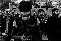 Teheran, Iran, April 12, 2007.Iranian youth. Cultural contrast in downtown Teheran..