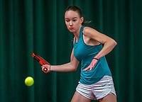 Wateringen, The Netherlands, December 4,  2019, De Rhijenhof , NOJK 14 and18 years, Lois van de Fliert (NED)<br /> Photo: www.tennisimages.com/Henk Koster