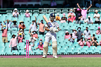 9th January 2021; Sydney Cricket Ground, Sydney, New South Wales, Australia; International Test Cricket, Third Test Day Three, Australia versus India; Ajinkya Rahane of India is bowled by Pat Cummins of Australia