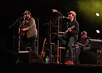 DELRAY BEACH - APRIL 03: The Swon Brothers performs at the Old School Square Pavilion on April 3, 2021 in Delray Beach, Florida. Credit: mpi04/MediaPunch