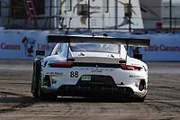 #88 HARDPOINT EBM(USA) PORSCHE 911 GT3 R GTD - KATHERINE LEGGE (GBR) CHRISTINA NIELSEN (DNK)