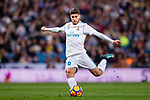Marco Asensio Willemsen of Real Madrid in action during the La Liga 2017-18 match between Real Madrid and UD Las Palmas at Estadio Santiago Bernabeu on November 05 2017 in Madrid, Spain. Photo by Diego Gonzalez / Power Sport Images