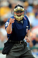 July 15, 2009:  Home Plate Umpire Brad Purdom during the 2009 Eastern League All-Star game at Mercer County Waterfront Park in Trenton, NJ.  Photo By David Schofield/Four Seam Images