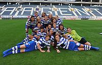 K AA Gent Ladies : ploegfoto<br /> foto Dirk Vuylsteke / nikonpro.be
