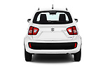 Straight rear view of a 2018 Suzuki Ignis GLX 5 Door Hatchback stock images