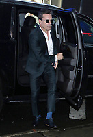 NEW YORK, NY- October 03,: Jon Hamm at Good Morning America promoting his new movie Lucy In The Sky on October 03, 2019 n New York City. Credit: RW/MediaPunch