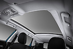 Sunroof interior low angle view of a 2011 Mitsubishi Outlander Sport SE