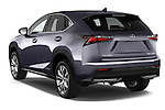 Car pictures of rear three quarter view of a 2015 Lexus NX 300h F Sport 4WD 5 Door SUV 4WD Angular Rear